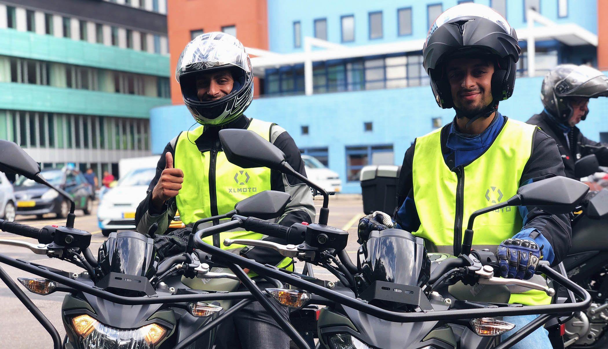 Motorrijles Den Haag